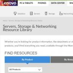 Lenovo server-library