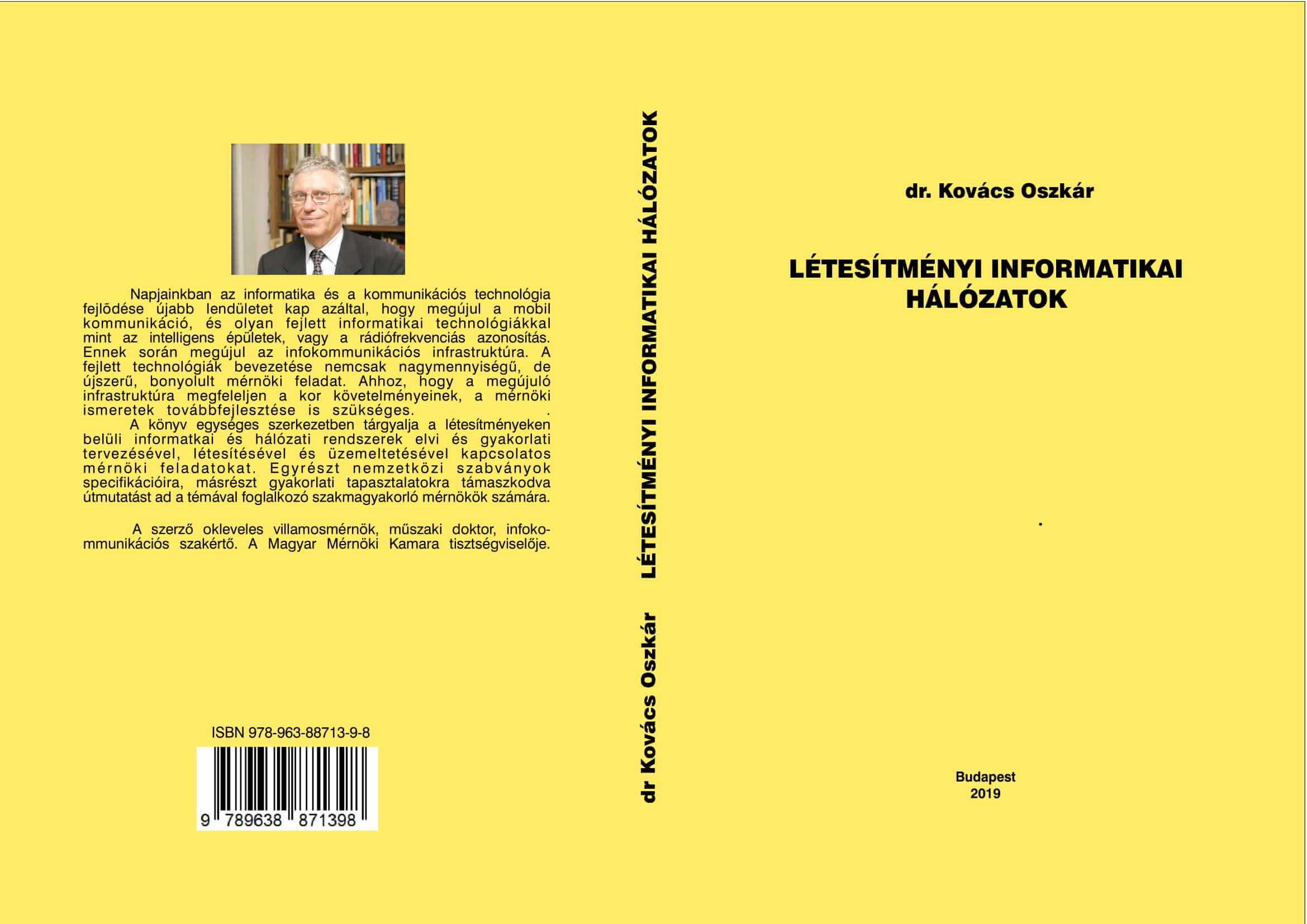 Létesítményi informatikai hálózatok – dr. Kovács Oszkár